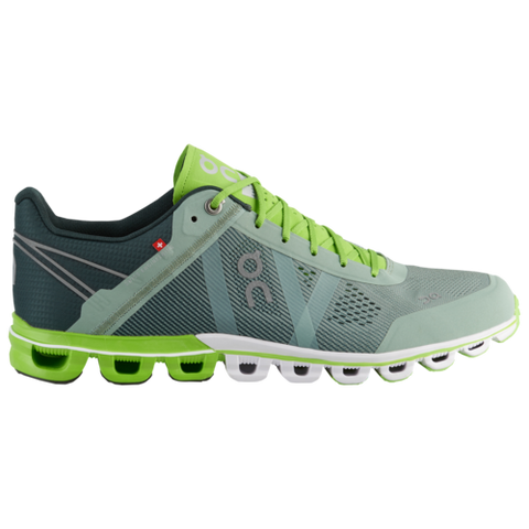 ON Cloudflow Men's Running Shoe Moss Lime