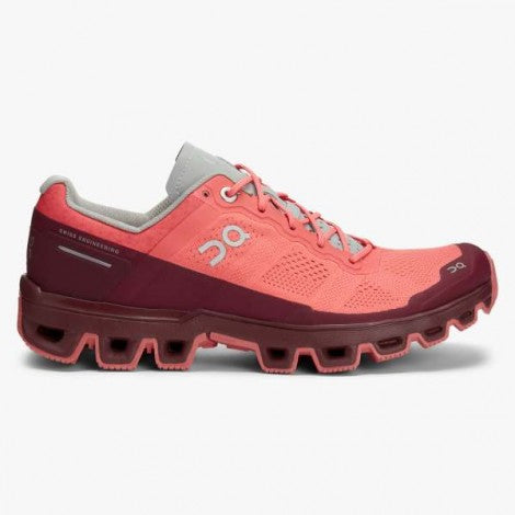 ON Cloud Ventures Womens Coral/Mulberry
