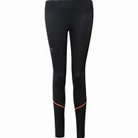 More Mile Compression Womens Long Running Tights - Black