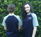 Navy/Grey T-shirt - MND NSW logo
