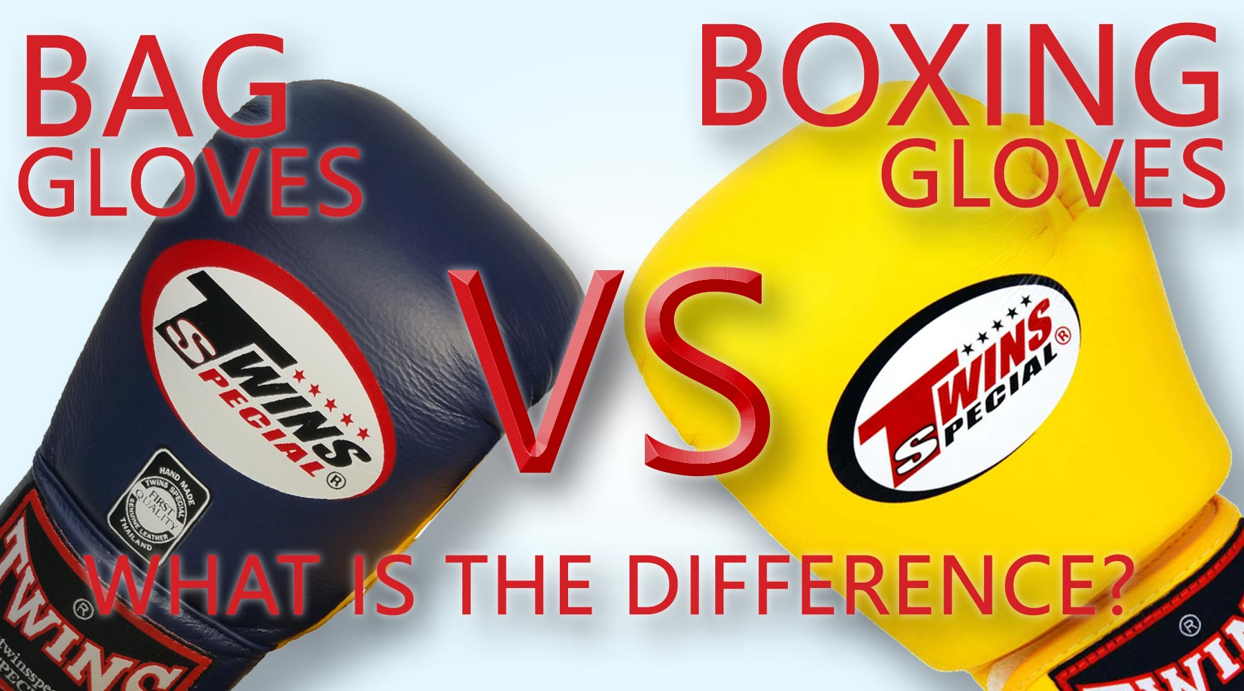 Bag Gloves vs Boxing Gloves