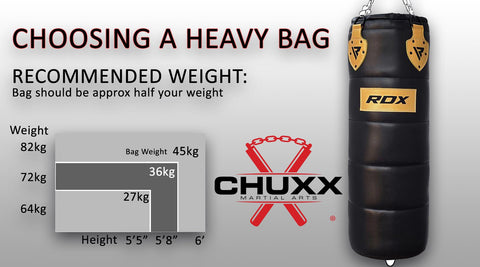 Heavy Bag Size Guide
