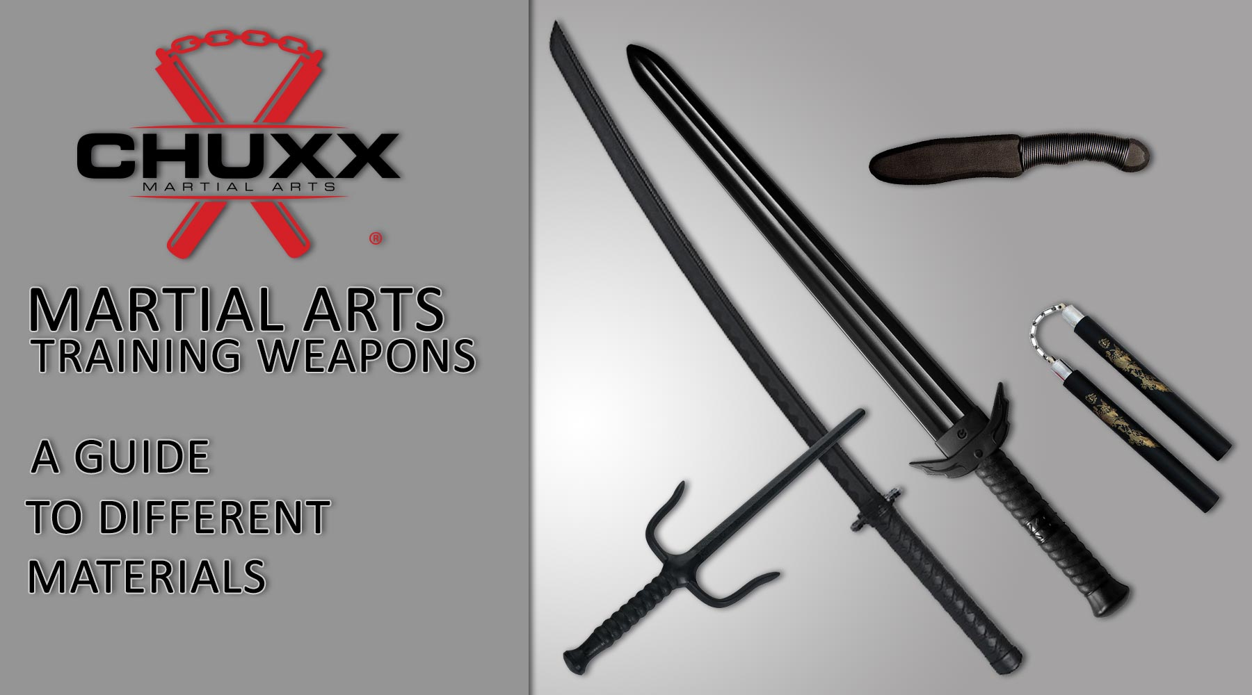 Martial Arts Practice Weapons Materials
