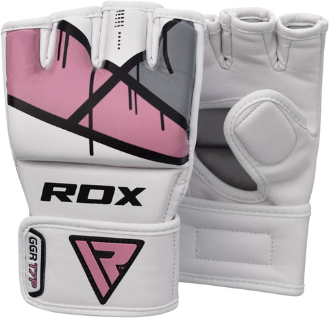 RDX T7 EGO MMA GRAPPLING GLOVES - PINK PAIR