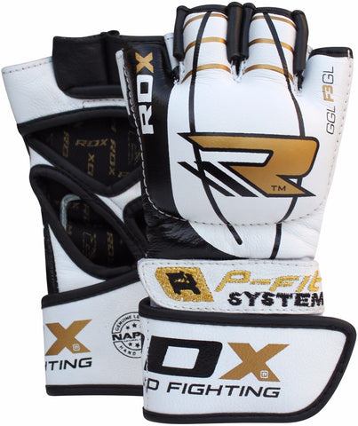 RDX F3 LEATHER MMA GLOVES PAIR