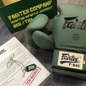 Fairtex BGV11 F-Day Boxing Gloves Green