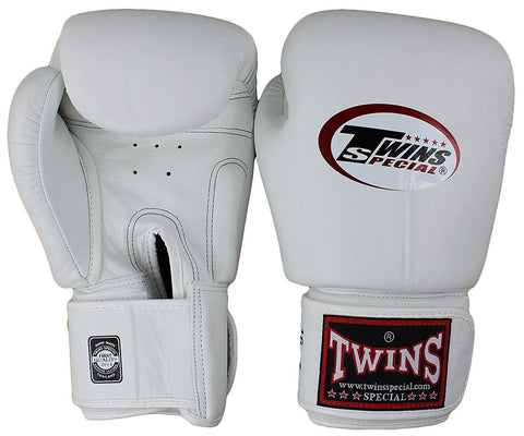 Image of Twins Special - BGVL3 Professional Boxing Gloves (White)