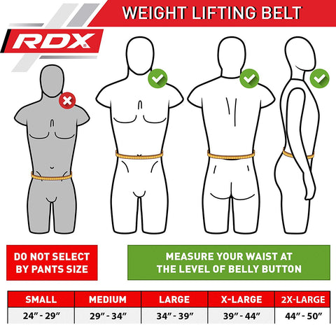 RDX Weight Lifting Belt 4""
