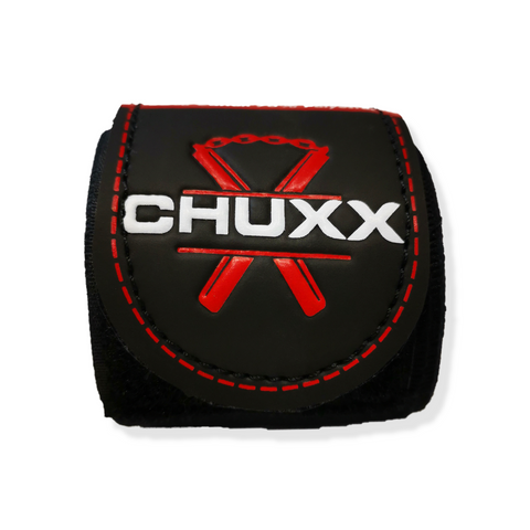 CHUXX Martial Arts Black Hand Wraps Close Up