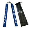 CHUXX Martial Arts Blue Premium Rope Practice Nunchaku with Case