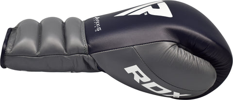 RDX A4 LACED BOXING SPARRING GLOVES - THUMB