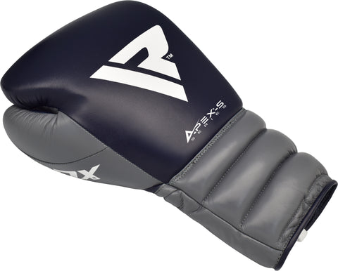 RDX A4 LACED BOXING SPARRING GLOVES BACK