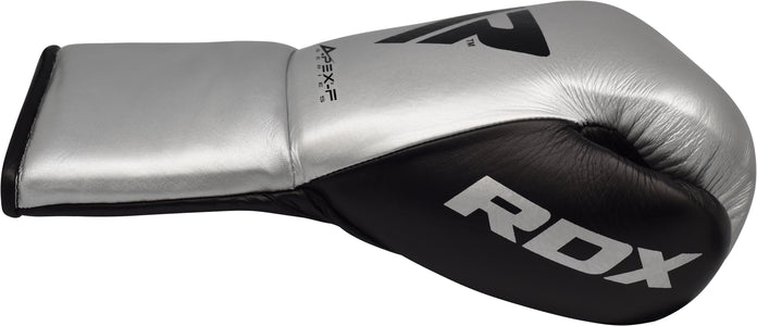 RDX A3 PROFESSIONAL FIGHT BOXING GLOVES - SILVER SINGLE