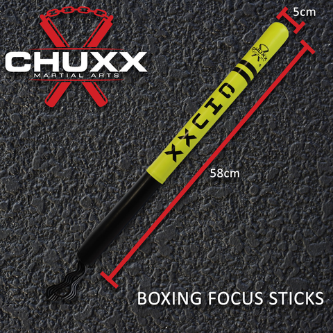 CHUXX Martial Arts Boxing Focus Sticks Set Of 2 With Case