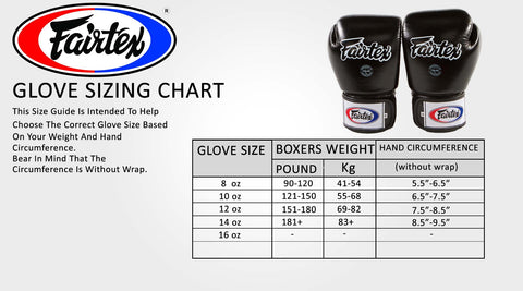 Fairtex BGV1 Boxing Gloves (Black)
