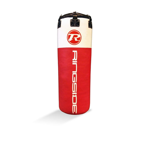 Ringside Boxing Synthetic Leather Red Jumbo Punch Bag - 57kg