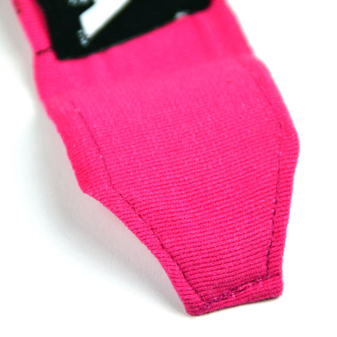 Image of MTG Pro 5m Pink Elasticated Hand Wraps Stitching