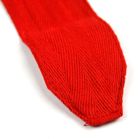 MTG Pro 5m Red Elasticated Hand Wraps Stitching