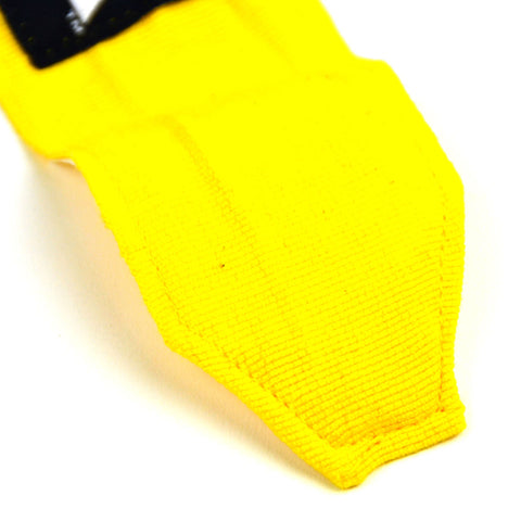 MTG Pro 5M Yellow Elasticated Hand Wraps Stitching
