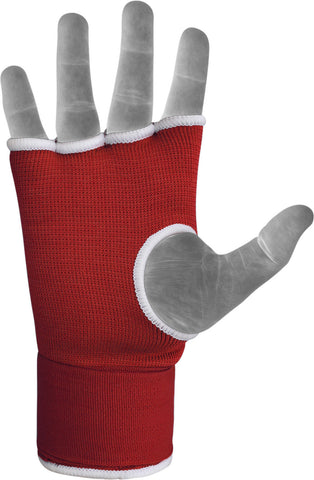 Image of RDX HYP-ISR INNER GLOVE RED STRAP PALM