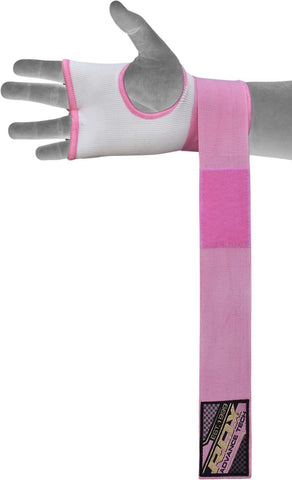 Image of RDX Inner Glove wrap Pink HYP-ISP Wrist Wrap
