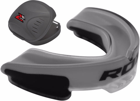 Image of RDX MOUTHGUARD 3T GGS-3GA GREY FRONT