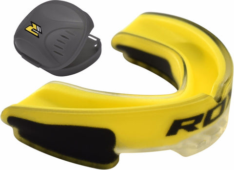 Image of RDX MOUTHGUARD 3T GGS-3YA YELLOW FRONT