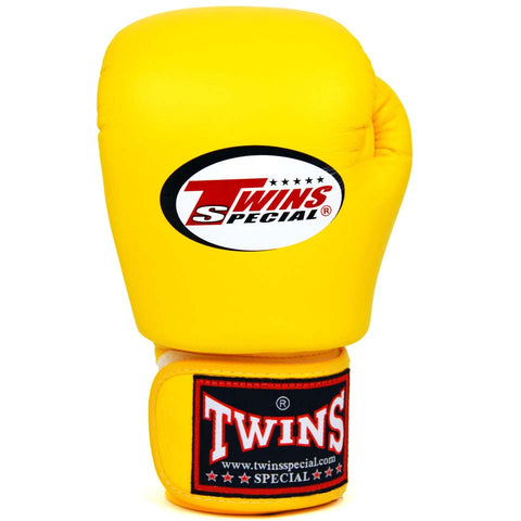 Image of Twins Special BGVL3 Gloves (Yellow) Single Back