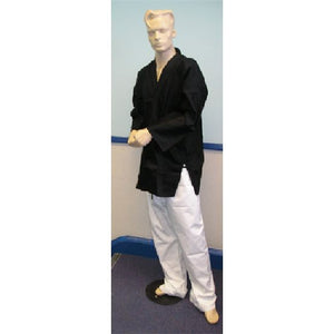 Karate Uniform Mixed: Black / White Trousers