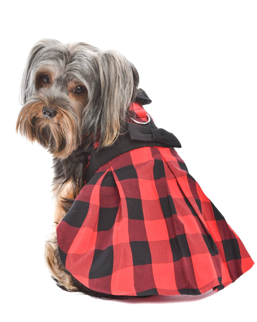 Buffalo Plaid Checkered Dress