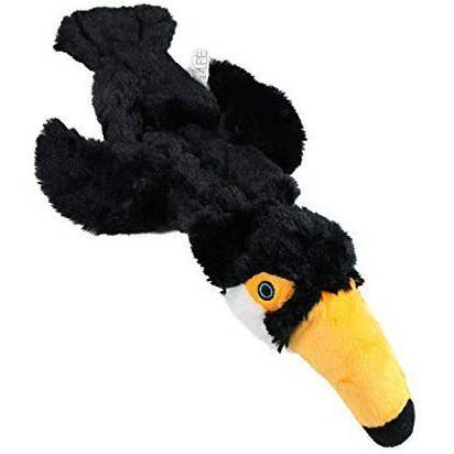 Toucan Stuffing Free Dog Toy with Squeakers