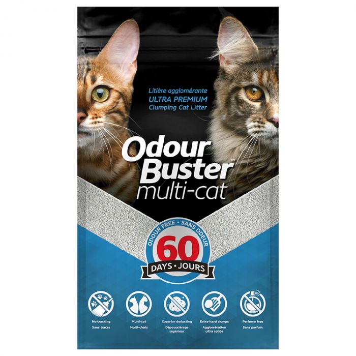 Odour Buster Clumping Cat Litter