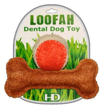 Organic Loofah Vegetable Dental Dog Toys - Playtime Set