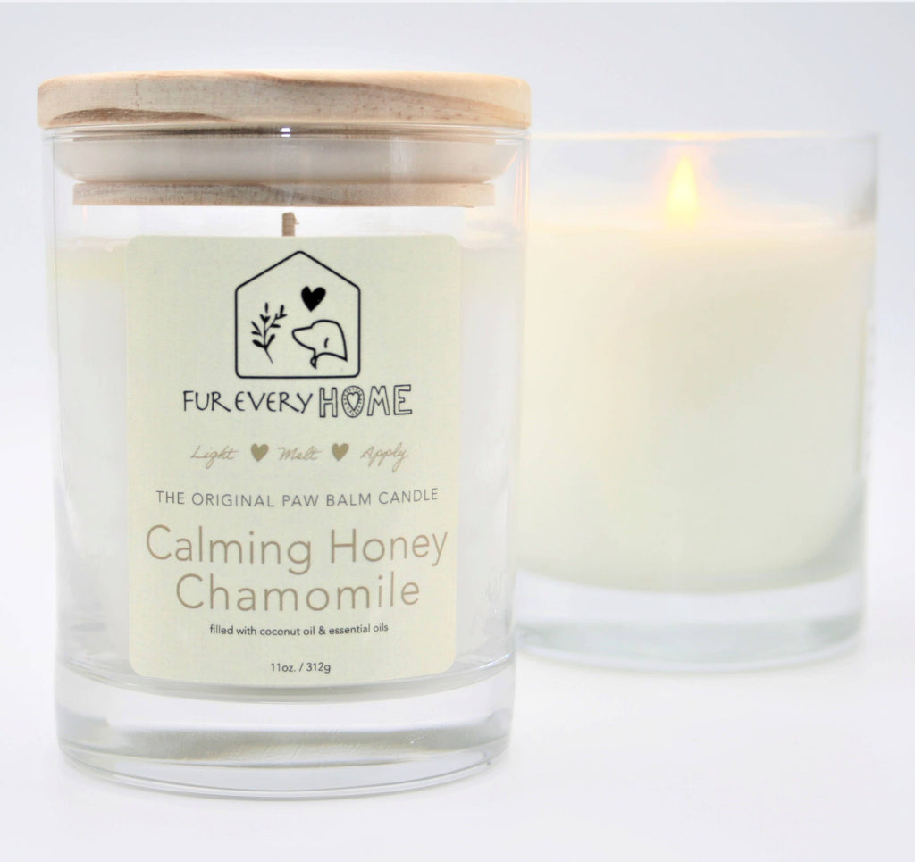 Calming Honey Chamomile Paw Balm Candle