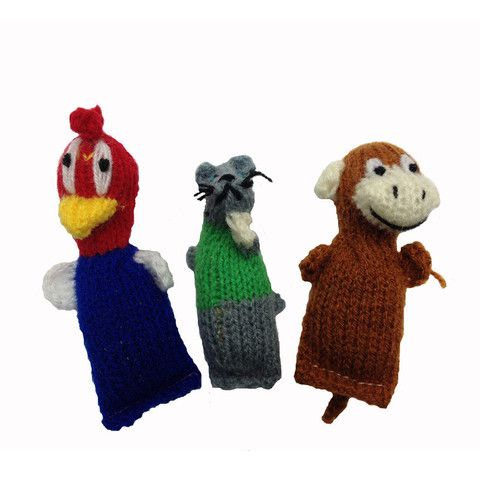 Barn Yarn Animals - Fair Trade Catnip Filled Wool Knit Cat Toys