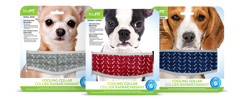FouFit Cooling Collar for Dogs