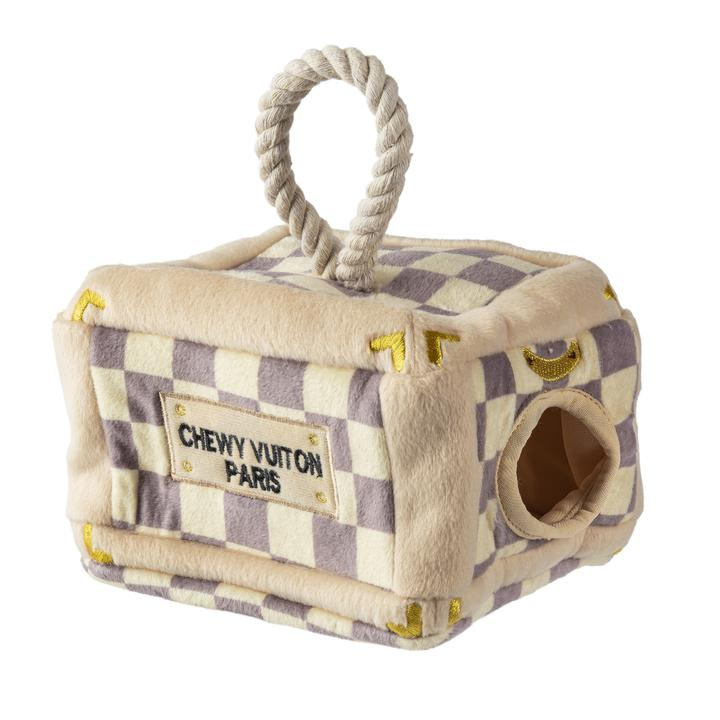 Checker Chewy Vuiton Trunk Interactive Activity House