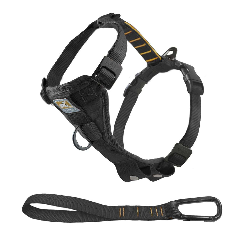 Kurgo Tru-Fit Smart Harness with Steel Nesting Buckles Enhanced Strength