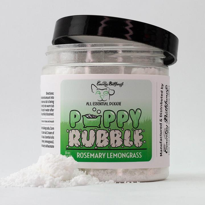 Country Bathhouse - Puppy Rubble - Rosemary Lemongrass