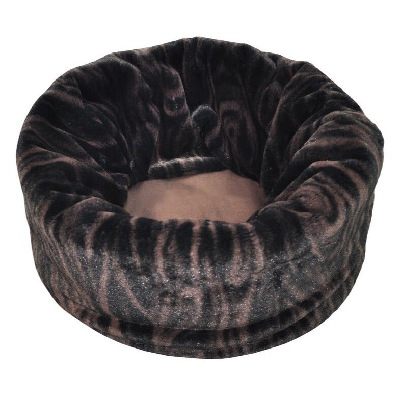 Pet Play Large Snuggle Bed - Truffle Brown