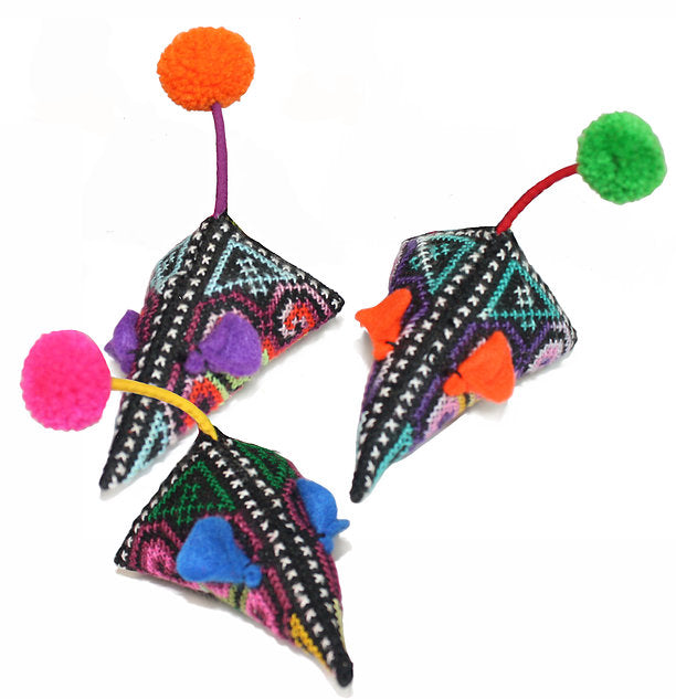 Goli Fair Trade Cat Toys - Mice