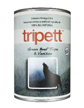 PetKind Tripett  Beef Tripe with Venison Wet Food for Dogs