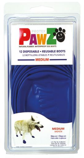 Pawz Rubber Waterproof Dog Boots