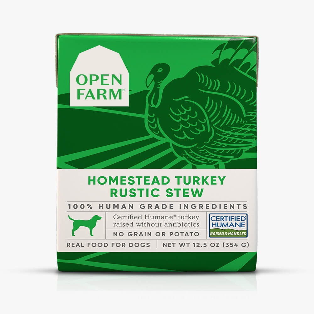 Open Farm Homestead Turkey Rustic Stew Wet Dog Food