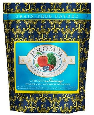 Fromm Four Star Grain Free Chicken Au Frommage Dry Cat Food