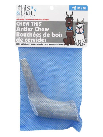Chew This Antler Chews
