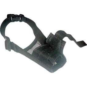 Dogline Nylon Adjustable Muzzle with Mesh