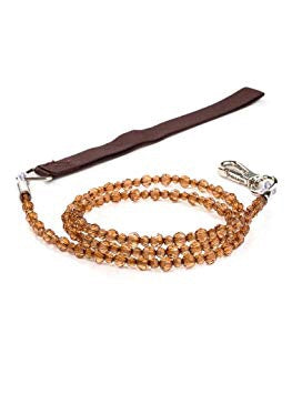 FabuLeash Boutique Collection Topaz Crystal Dog Leash