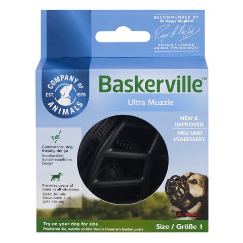 COA Baskerville Ultra Muzzle for Dogs
