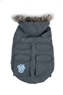 Canada Pooch Everest Explorer Jacket Wool Grey